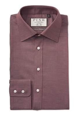 Thomas Pink Boyd Plain Slim Fit Dress Shirt