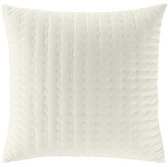 BEIGE Stone Cottage Solid Square Pillow