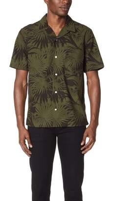 Vince Palm Leaf Cabana Shirt