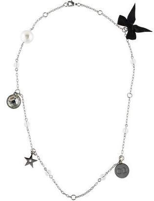 Christian Dior Charm Station Necklace