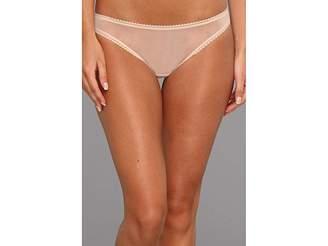OnGossamer Solid Gossamer Mesh Hip Bikini 3202