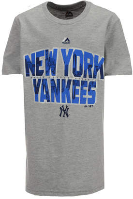Majestic New York Yankees Big City T-Shirt, Big Boys (8-20)