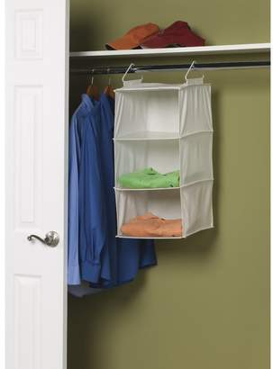 Household Essentials 3-Compartment Hanging Shoe Organizer