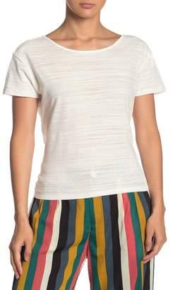 Line & Dot Rabia Back Tie T-Shirt