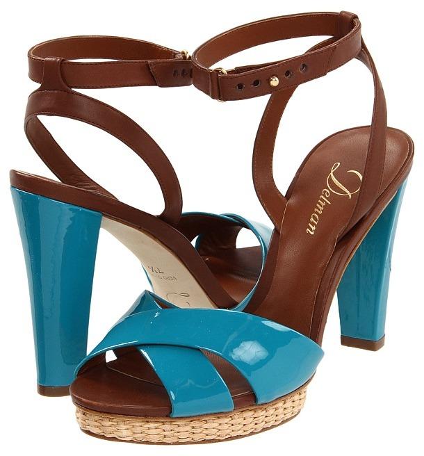 Delman D-Dani-PV (Coral/T. Moro Patent/Vacchetta) - Footwear