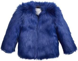 6096344615ae1 Tommy Hilfiger Girls Faux Fur Coat