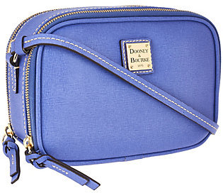 As Is Dooney & Bourke Saffiano Leather Sawyer Crossbody $125 thestylecure.com