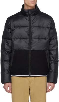 Ecoalf 'Lofoten' contrast pocket Primaloft® down puffer ripstop jacket