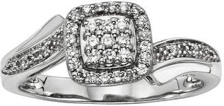 JCPenney MODERN BRIDE 1/5 CT. T.W. Diamond Sterling Silver Promise Ring