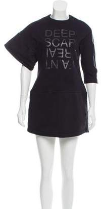 Undercover Printed Mini Dress