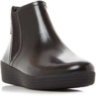 FitFlop Superchelsea Bo Stacked Heel Chelsea Boots