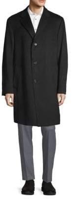 Hickey Freeman Archer Cashmere Topcoat
