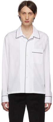 Maison Margiela White Pyjama Shirt
