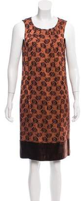 Etro Embroidered Knee-Length Dress