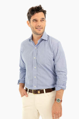 Gents Ledbury McBride Check Button Down