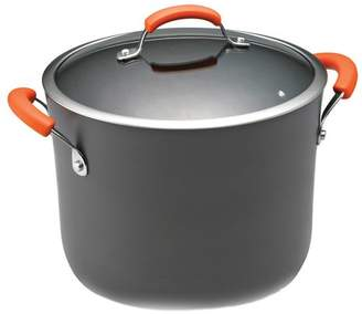 Rachael Ray 10 qt. Anodized Stock Pot with Lid