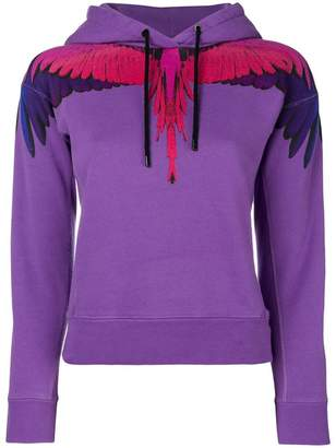 Marcelo Burlon County of Milan Wings print hoodie