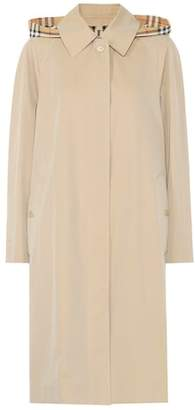 Burberry Oversized gabardine trench coat
