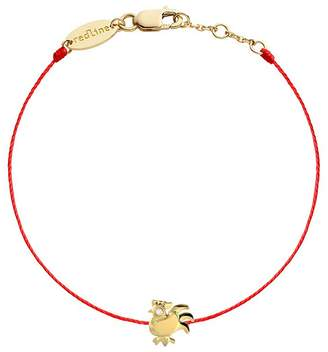 Redline Diamond Rooster Red Bracelet