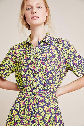 Nicole Miller Dunaway Floral Shirtdress