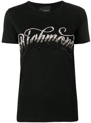 John Richmond sequinned studded T-shirt