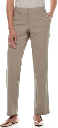 Apt. 9 Petite Torie Curvy Straight-Leg Dress Pants