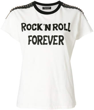 Twin-Set Rock n' Roll Forever T-shirt