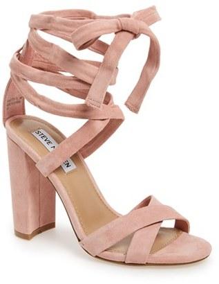 Women's Steve Madden 'Christey' Wraparound Ankle Tie Sandal $109.95 thestylecure.com