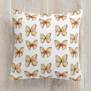 Rhopalocera Square Pillow