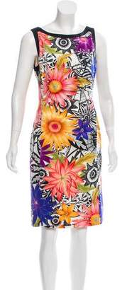Marc Cain Sleeveless Printed Dress