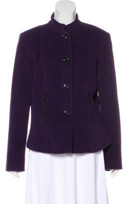 Lafayette 148 Long Sleeve Collared Jacket