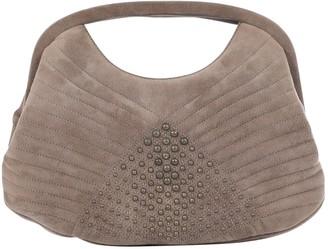 Ungaro Vintage Beige Suede Clutch Bag