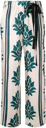 Alysi floral print palazzo trousers