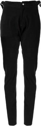 Sulvam D-ring buckle trousers
