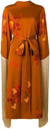 Ellery fringed kimono dress
