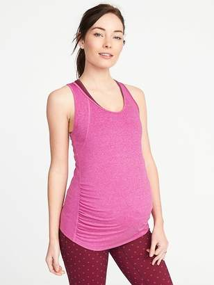 Old Navy Maternity Semi-Fitted Racerback Run Tank