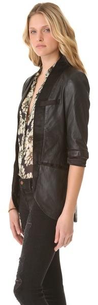 Maja Cote by improvd Leather Blazer