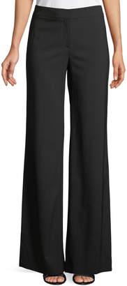 Theory Admiral Crepe High-Slit Pants