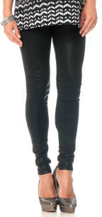 A Pea in the Pod Sold Design Lab Super Skinny Maternity Coated Jeans