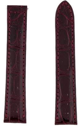 Cartier 16mm Alligator Watch Strap