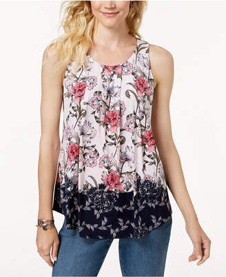 Charter Club Floral-Print Top, Created for Macy's