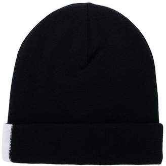 Givenchy colour-block beanie hat