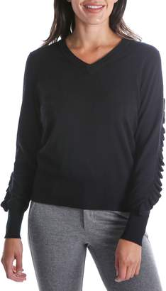 KUT from the Kloth Marlee Ruffle Sleeve Sweater