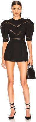 Alice McCall A Foreign Affair Mini Dress in Black   FWRD