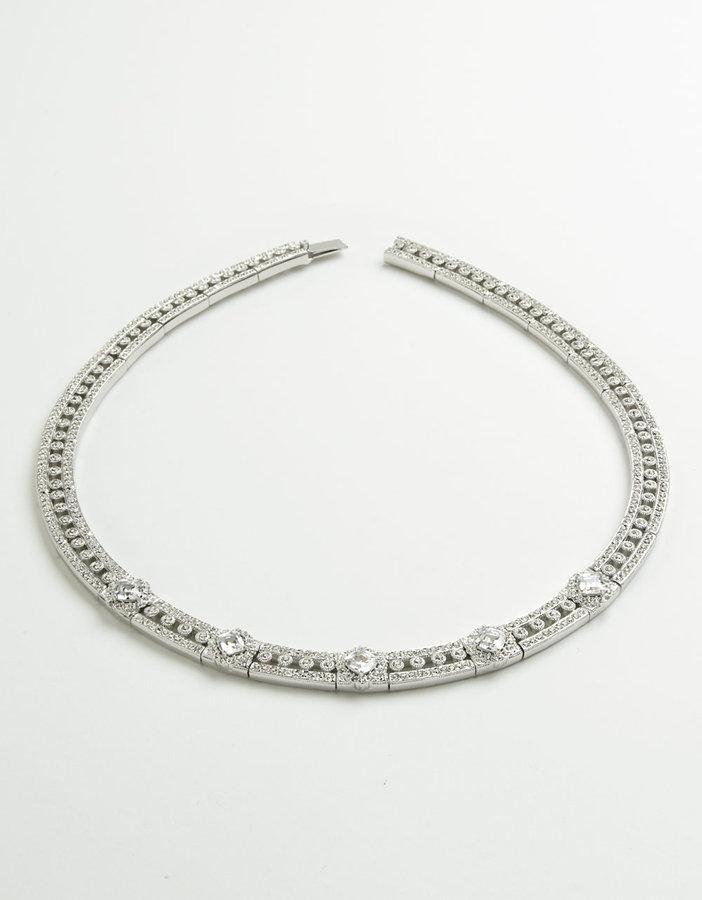 NADRI Crystal Choker Necklace