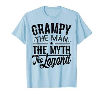 Adndesigns Co. Grandpa Shirt And Gifts For Grandad Mens Grampy the Man the Myth the Legend Tshirt for Grandfather