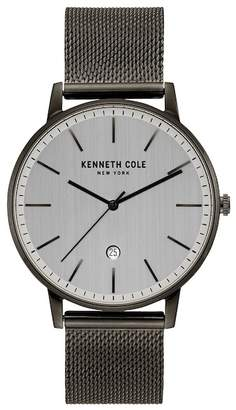 Kenneth Cole New York Men's Mesh Bracelet Watch, 42mm
