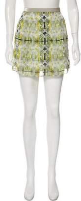 Theyskens' Theory Silk Mini Skirt w/ Tags
