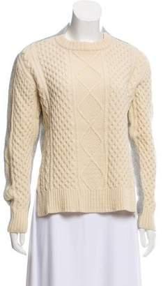 Sacai Luck Cable Knit Asymmetrical Sweater 2857aa4a8