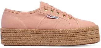 Superga 40mm Canvas Platform Sneakers